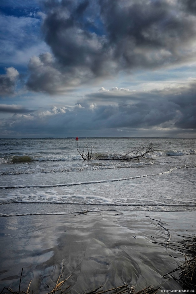 Playing with the Fuji X100S on Sullivan's Island