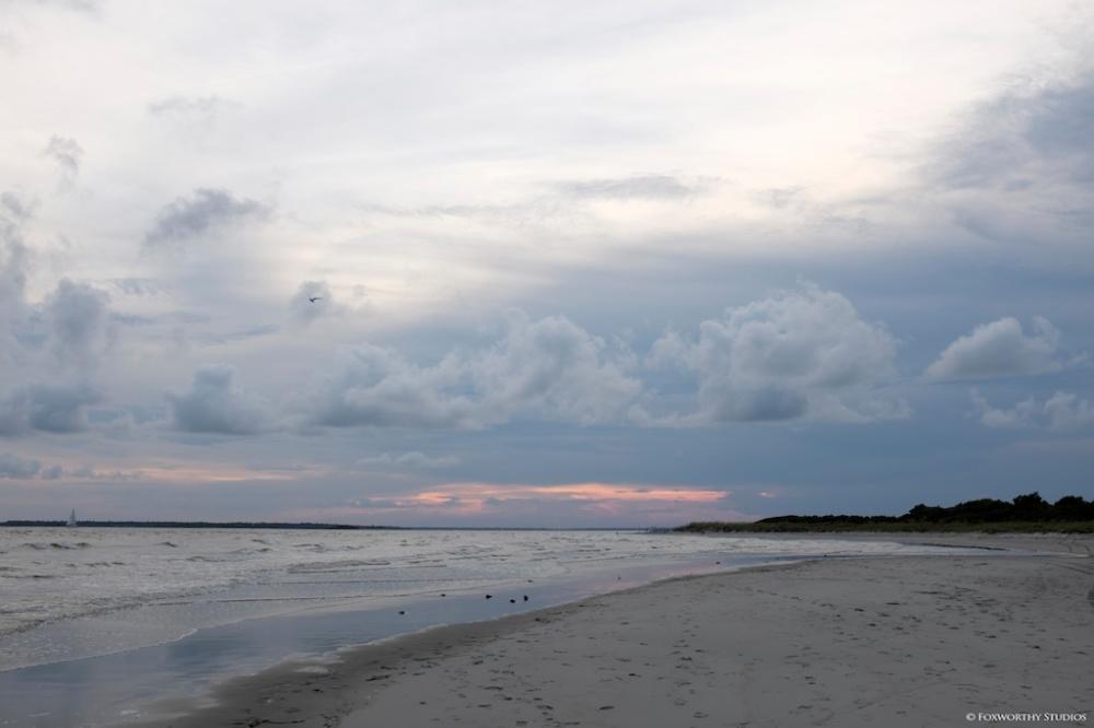 Sullivan's Island evening walk