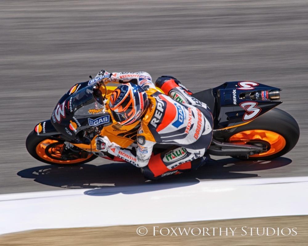 Repsol Honda MotoGP racer Max Biaggi
