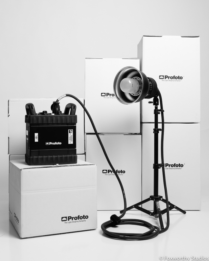 The amazing Profoto B4 Battery generator and Pro B head kit for rent from High Output Charleston